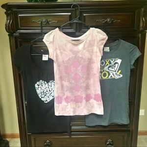 Roxy Bundle Tees (3)